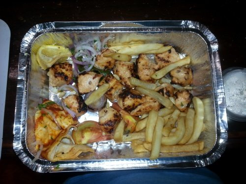 Shish Kebab Chicken