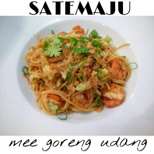Mee Goreng Udang - Fried Noodles with Prawn