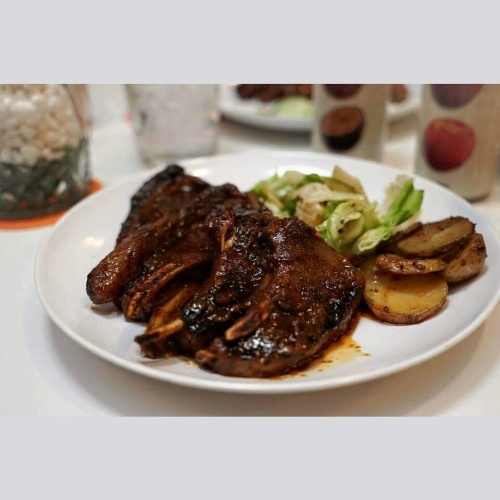 BBQ Lamb Rack