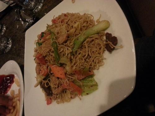 mix noodle