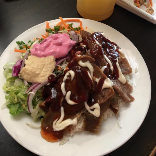 Lamb Iskander (Rice)