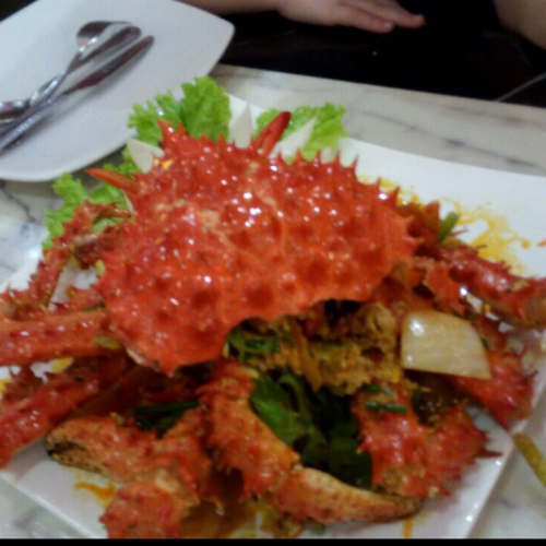 King Crab Yellow Curry