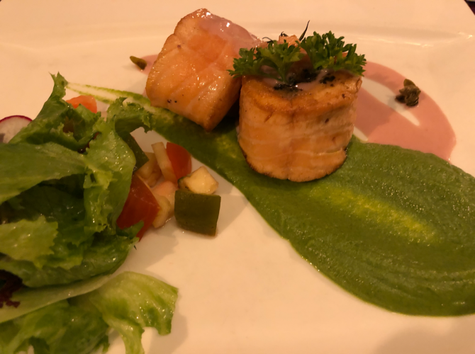 Salmon Rolade
