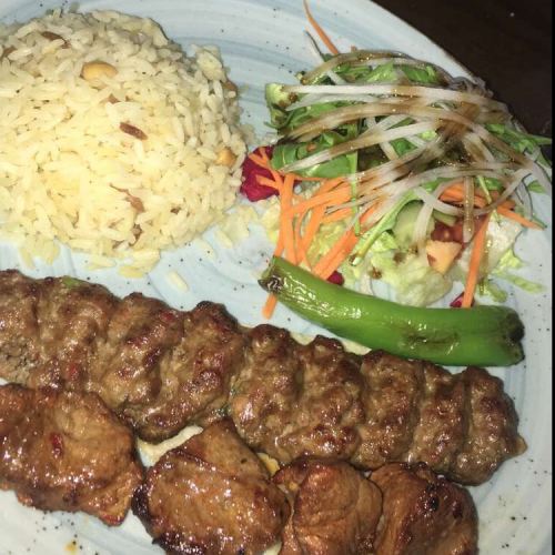 Adana and lamb shish