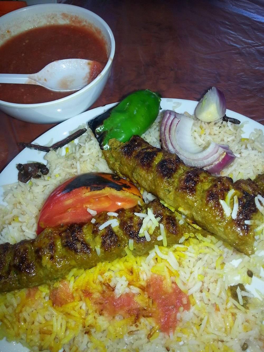 Camel Meat Kebab