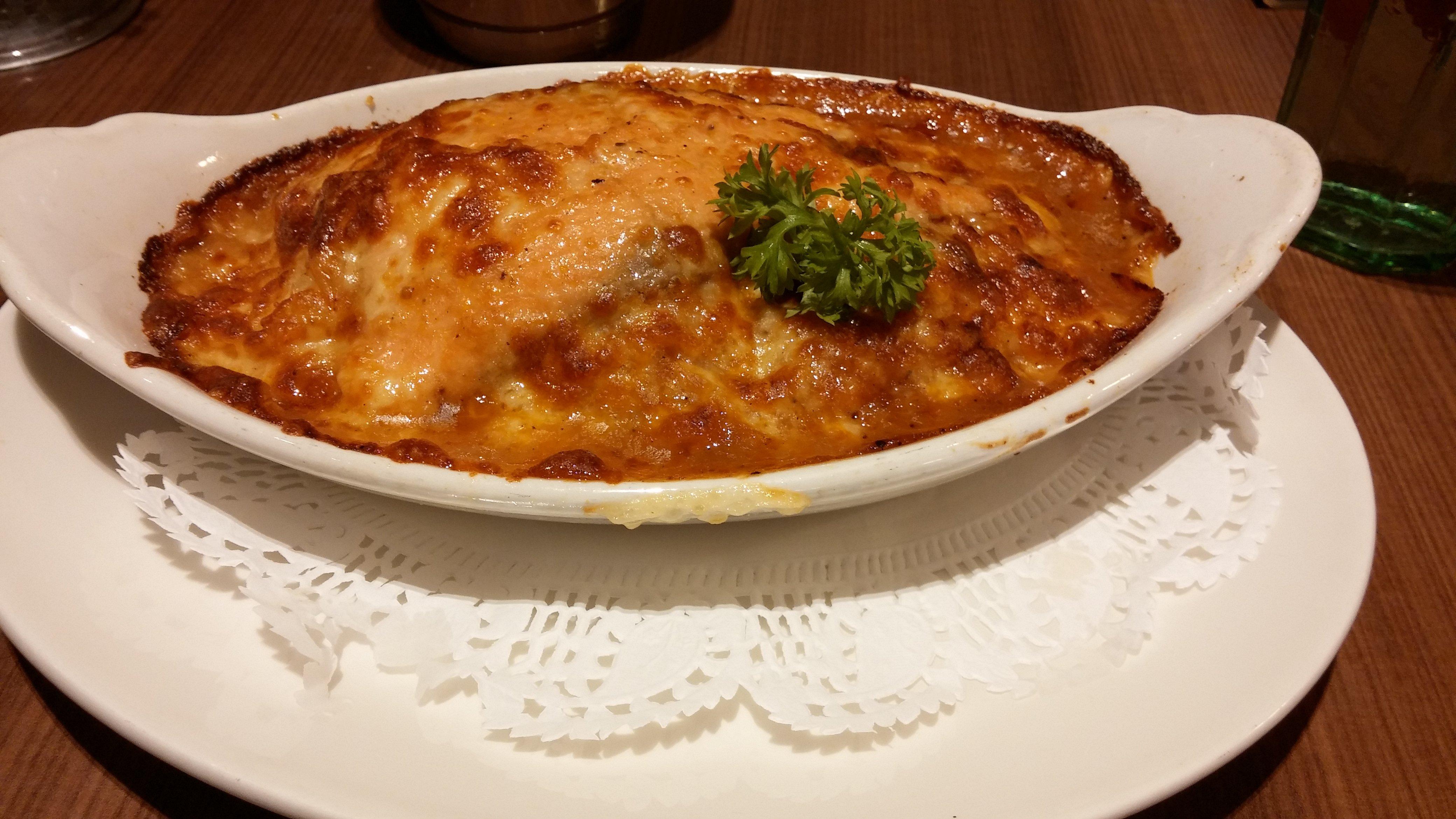 Salmon & Mushroom Baked Rice
