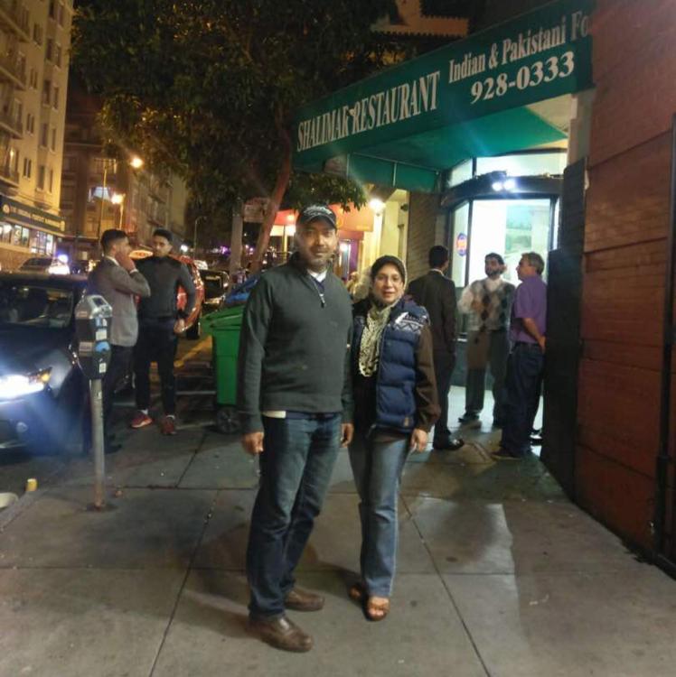 Shalimar Restaurant Jones Street San Francisco Ca