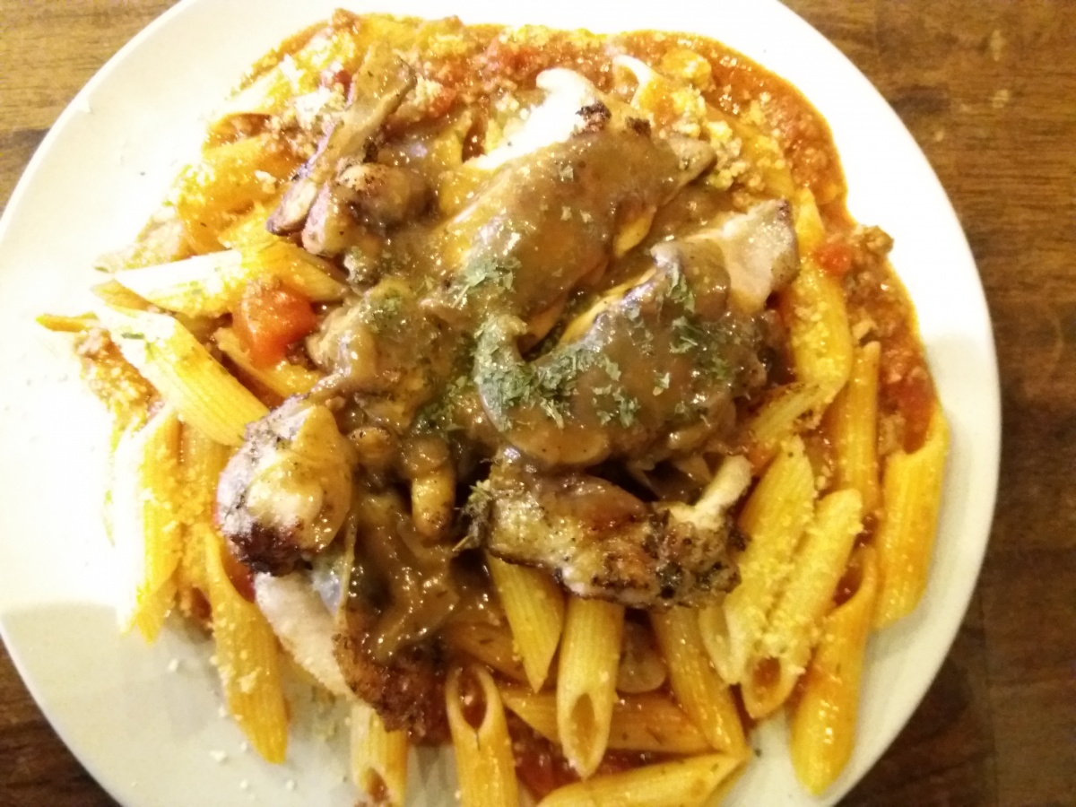 Chicken Chop Bolognese