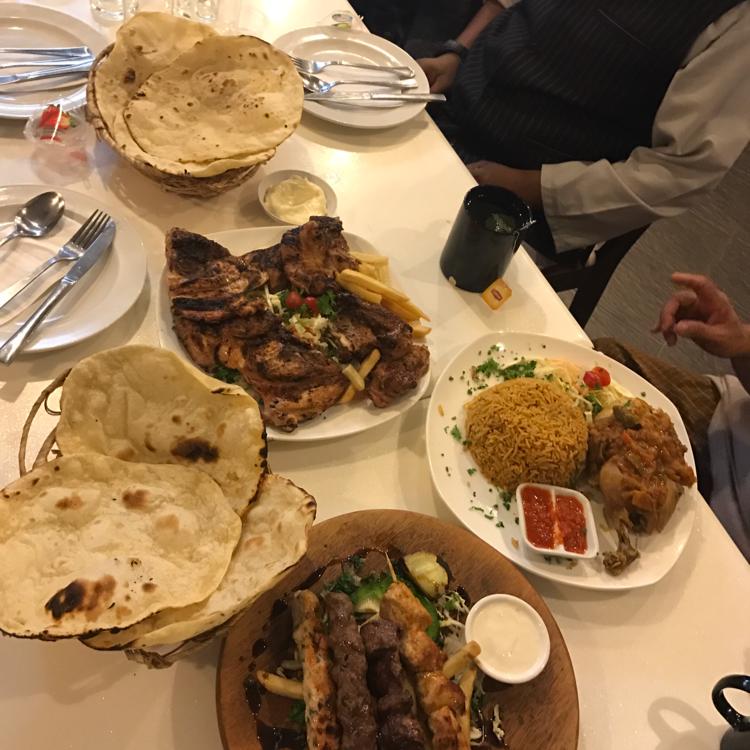 syrian kebab