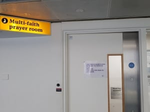 Prayed Room at Heathrow T3
