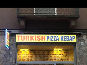 Turkish Pizza Kebab