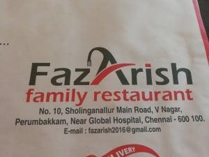 Fazarish Family Restaurant