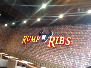 rump and ribs