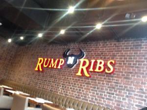 rump and ribs