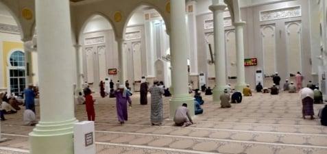Masjid Al Abyadh, Matang Jaya Kuching